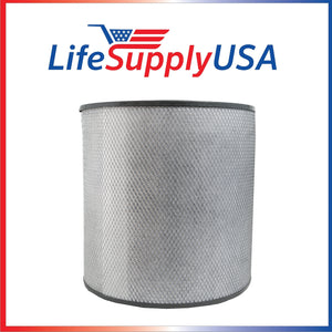 LifeSupplyUSA Replacement Filter Compatible with Austin Air HM 400 HealthMate HM-400 HM400 FR400 Ez Store USA