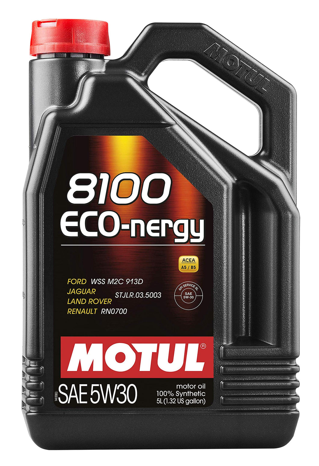 Motul 102898 8100 Eco-nergy 5W-30 100 Percent Synthetic - 5 Liter