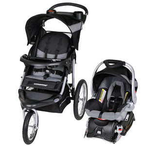 Baby Trend Expedition Jogger Travel System, Millennium White Expedition Travel System