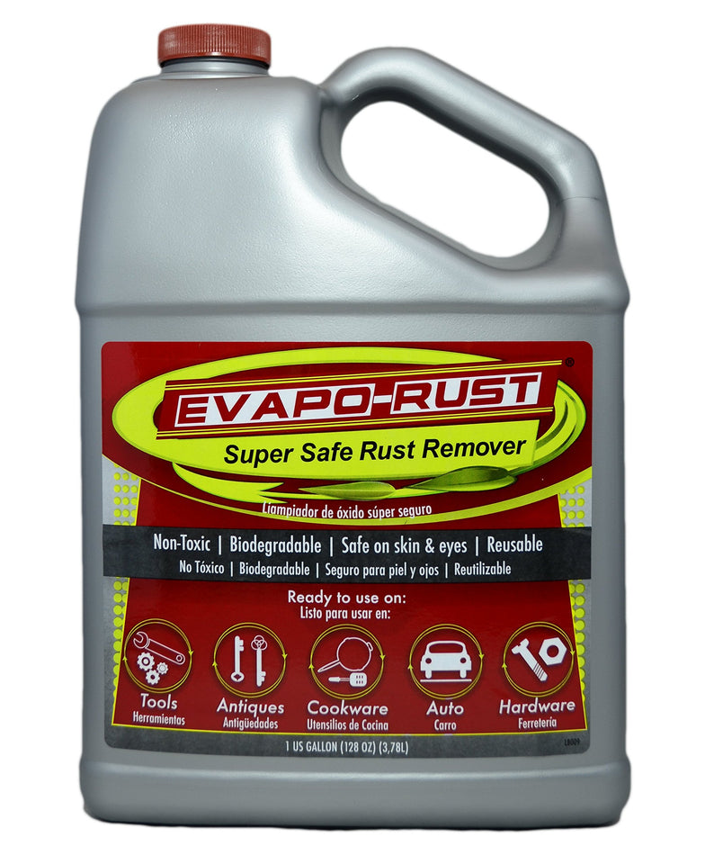 Evapo-Rust  The Original Super Safe Rust Remover, Water-Based, Non-Toxic, Biodegradable, 1 Gallon
