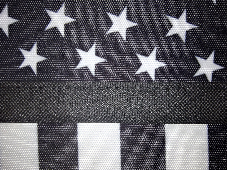 ERT Thin Blue Line Flag Garden Flag 12.5 x 18 Inch Police Flag American Flag Made by Oxford