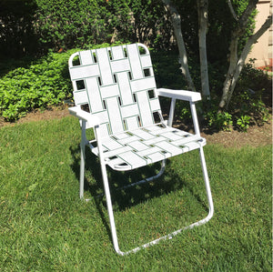 Frost King PW39W Not Available Lawn Chair Webbing 39' L White Polypropyline Webbing - White