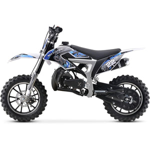 Demon Dirt Bike 50cc Blue