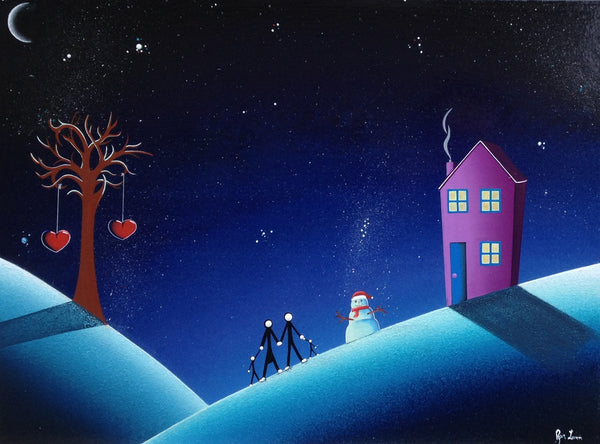 A winters night!! SOLD!