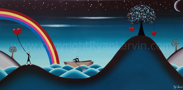 Sailing to my love! SOLD!