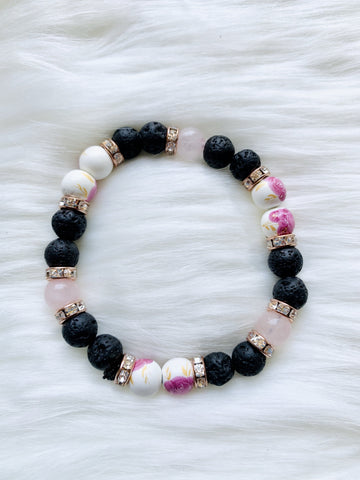 Rose Quartz Bracelet - Pressbe Workshop