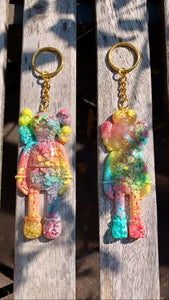 Pastel KAWS Keychain - Pressbe Workshop