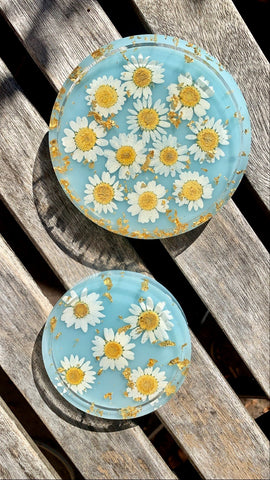 Chrysanthemum Coaster Set - Pressbe Workshop