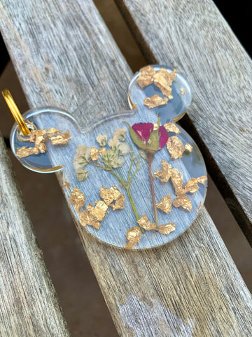 Rose & Baby's Disney Keychain - Pressbe Workshop