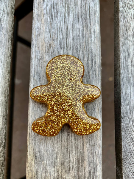 Mini Gingerbread Men Keychains - Pressbe Workshop