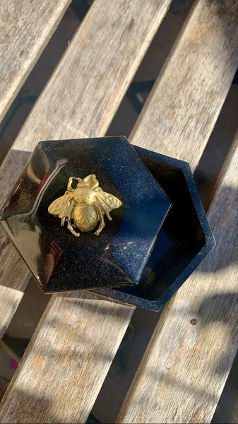 Bee Trinket Box - Pressbe Workshop
