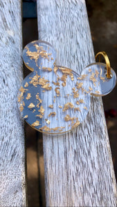 Gold Disney Keychain - Pressbe Workshop