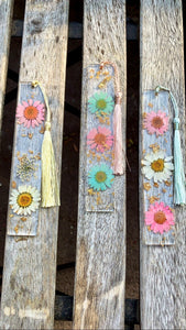 Assorted Chrysanthemums Bookmark set (3pc) - Pressbe Workshop
