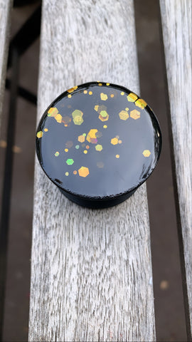Gold Holographic Pop Socket - Pressbe Workshop