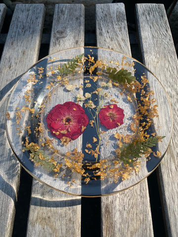 Rose & Gold Jewelry Dish - Pressbe Workshop