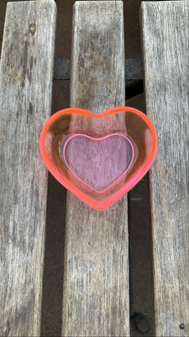 Rose Pink Heart Dish - Pressbe Workshop
