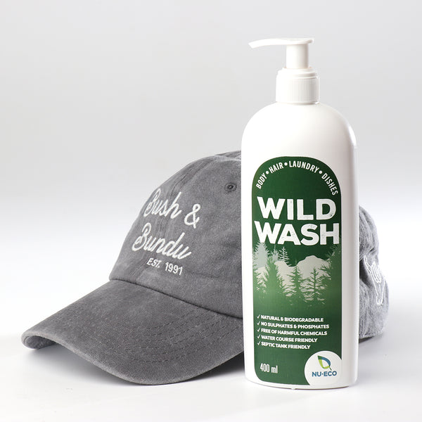 Wild Wash & Grey Cap Combo