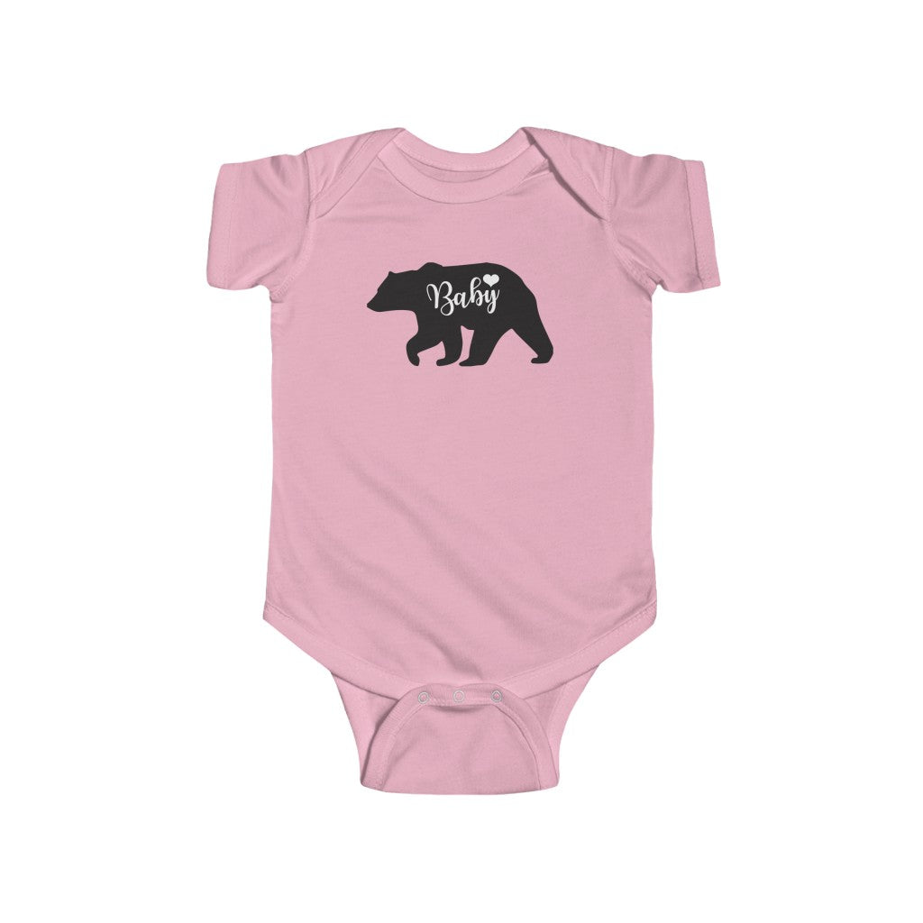 Baby Bear Infant Fine Jersey Bodysuit