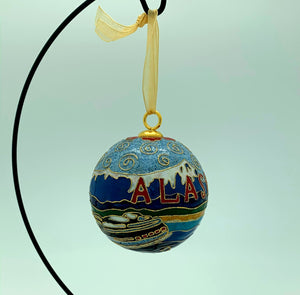 Heirloom Kitty Keller Ornament - Alaska