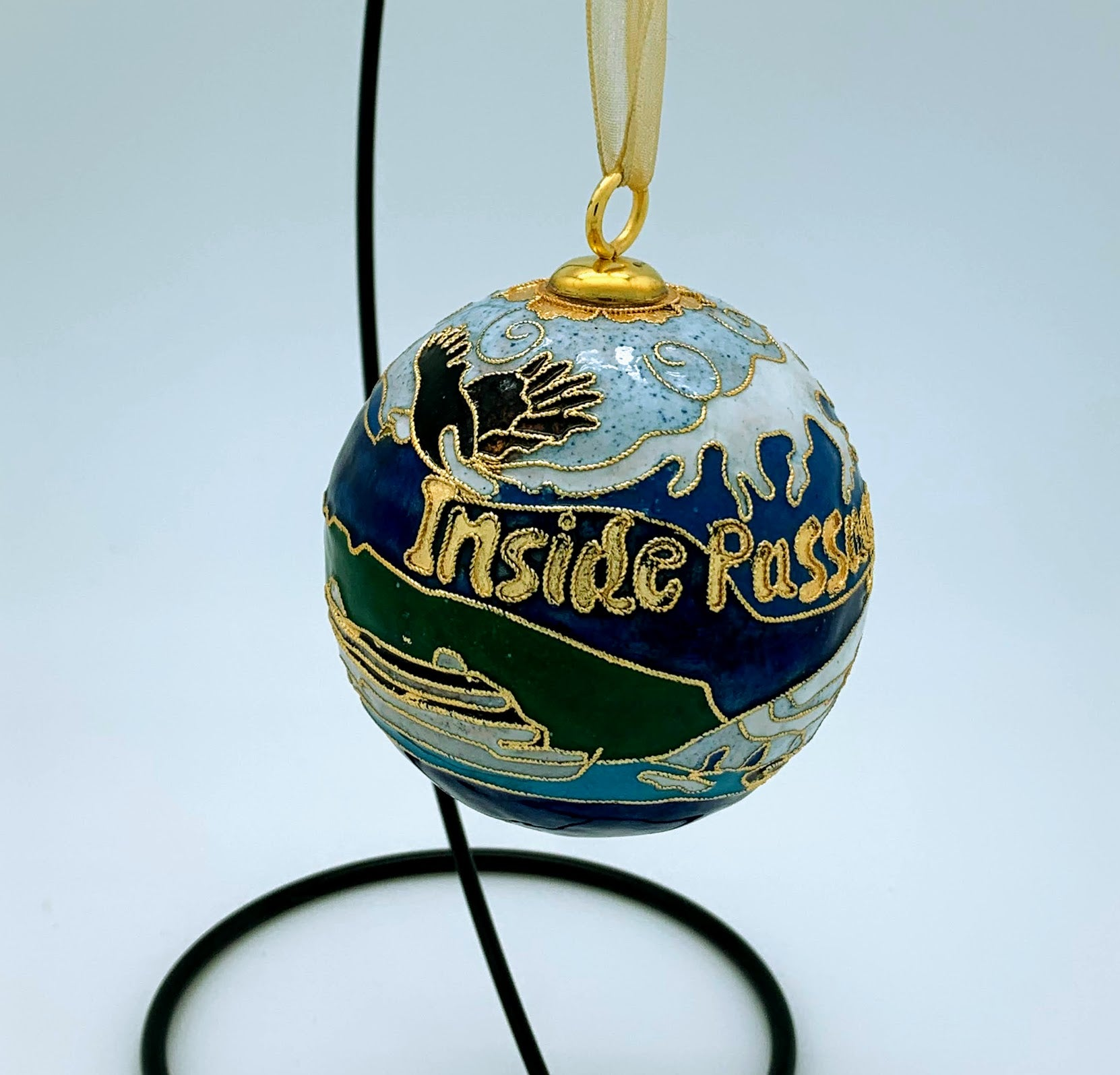 Heirloom Kitty Keller Ornament - Inside Passage