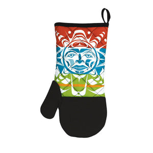 Oven Mitt - Salish Sun by Paul Windsor
