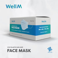 WellM 3-Ply Face Mask