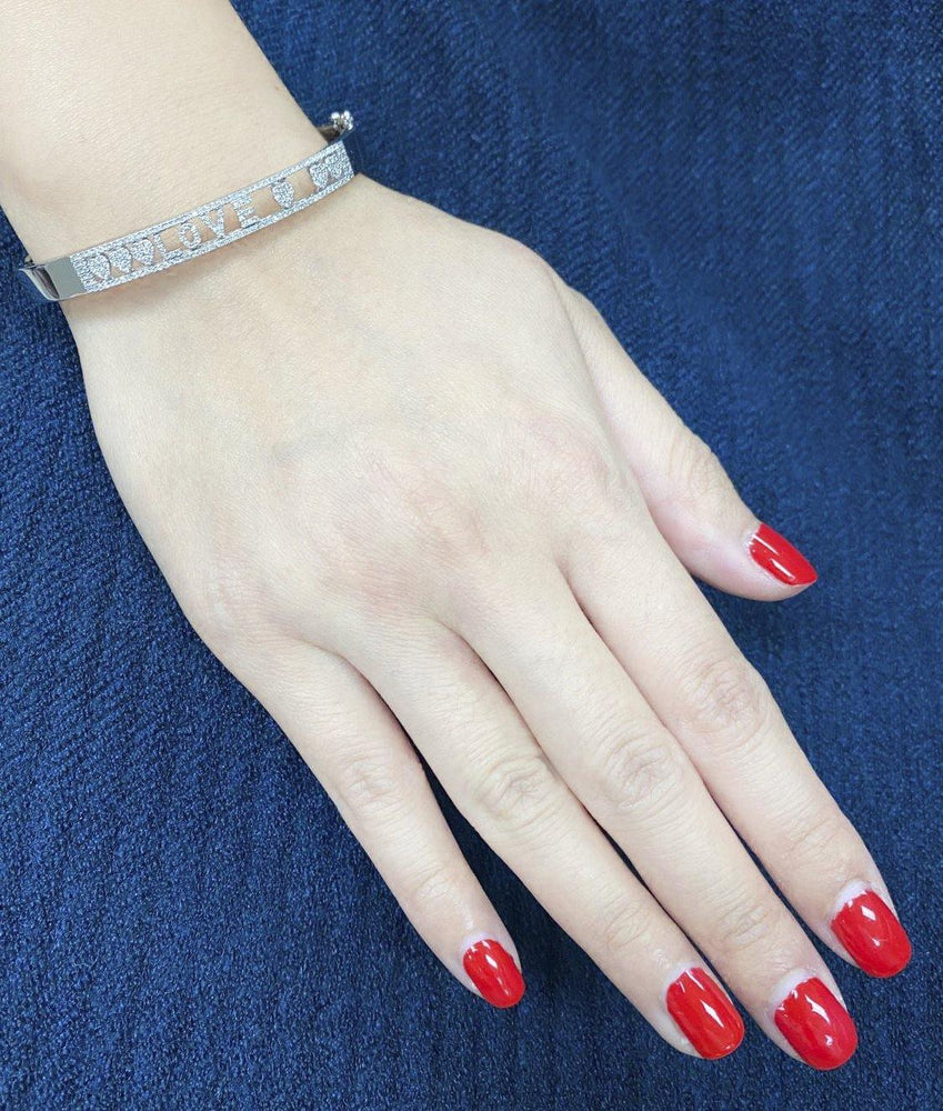 Moving Diamond Bangle BR40781 - Cometai