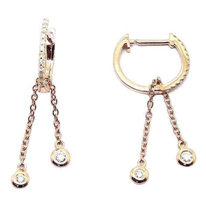 Load image into Gallery viewer, Diamond Earrings CE113 - Cometai