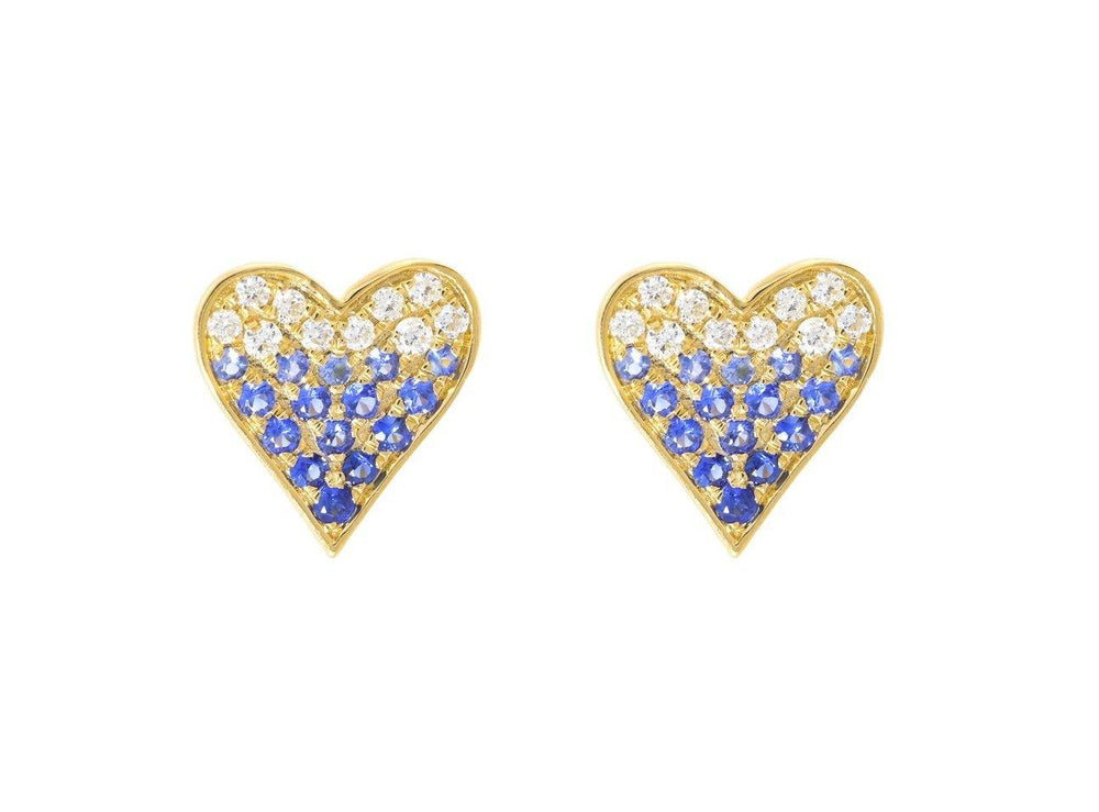 Load image into Gallery viewer, Diamond & Gemstone Earrings CE15 - Cometai