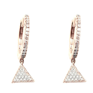 Diamond Earrings CE205 - Cometai