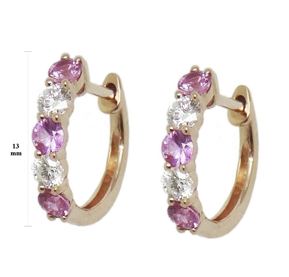 Diamond & Gemstone Earrings CE223-2R