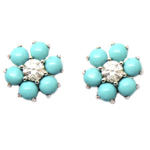 Diamond & Gemstone Earrings CE243 - Cometai
