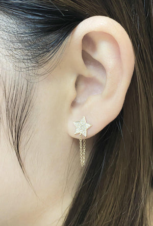 Diamond Earrings CE246Y - Cometai