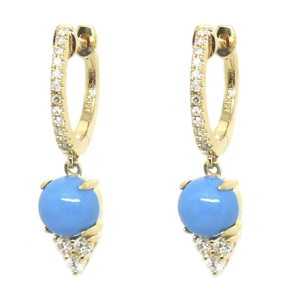 Diamond & Gemstone Earrings CE251