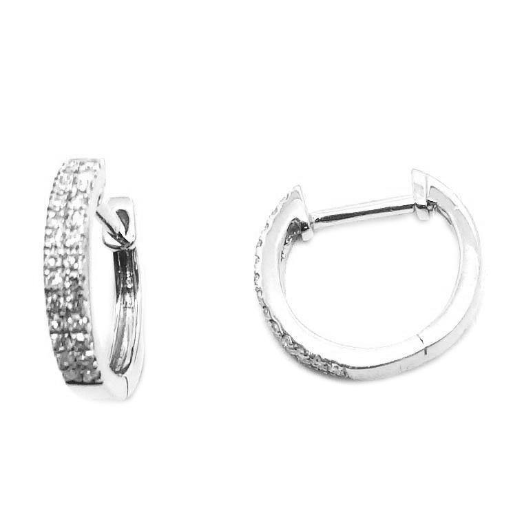 11mm Diamond Earrings CE35