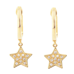 Diamond Earrings CE41 - Cometai
