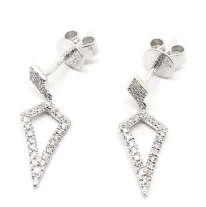 Load image into Gallery viewer, Diamond Earrings CE50W - Cometai