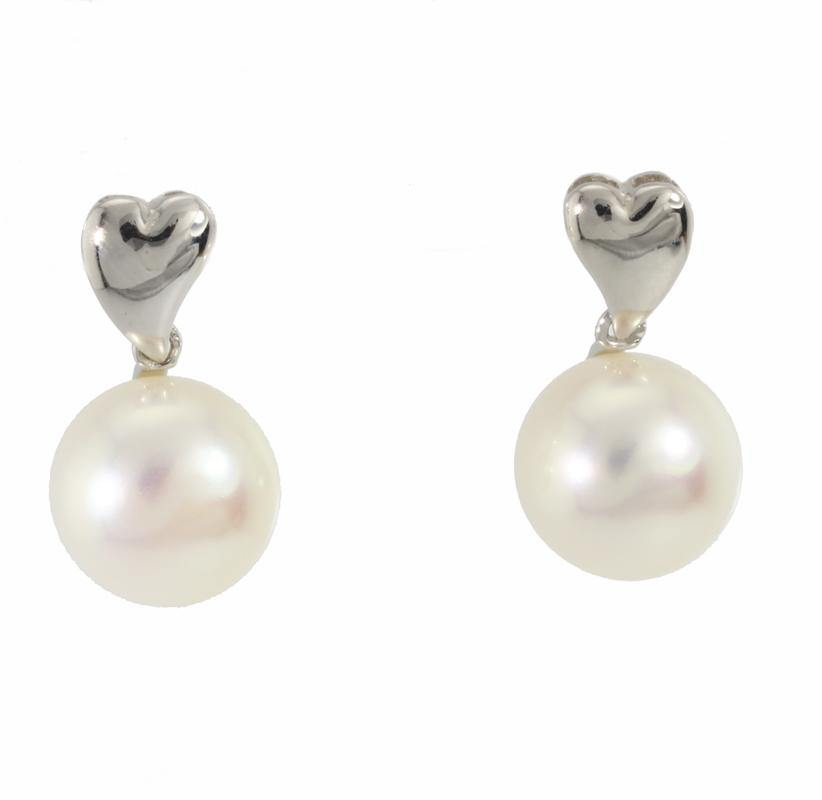 Load image into Gallery viewer, 10mm Pearl Earring E26937 - Cometai
