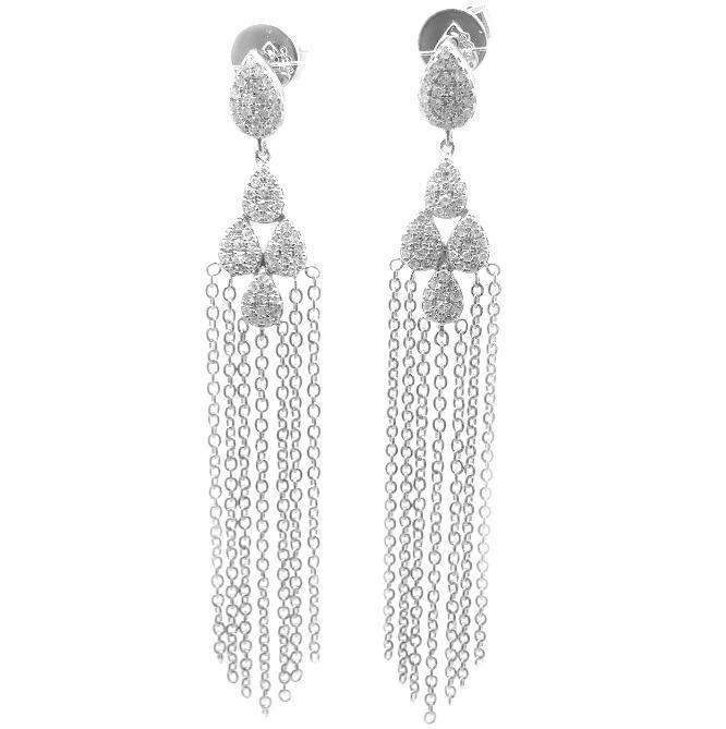 Diamond Earrings E37708