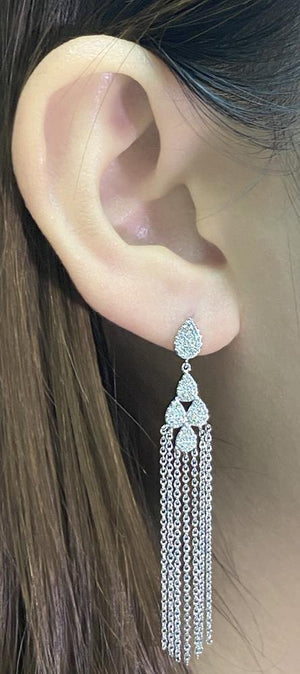 Diamond Earrings E37708 - Cometai