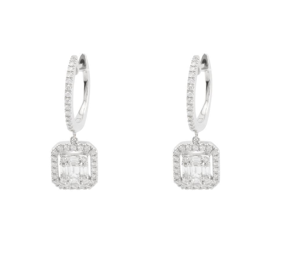 Diamond Earrings E39055