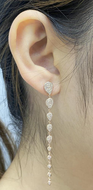 Load image into Gallery viewer, Diamond Earrings E39254 - Cometai