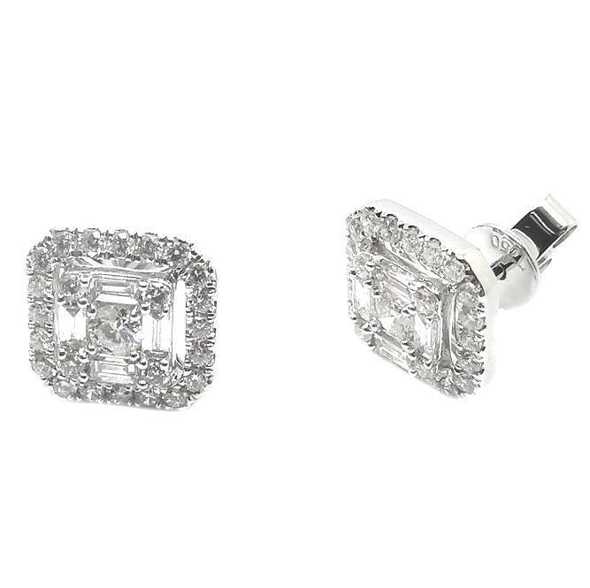 Diamond Earrings E39343 - Cometai