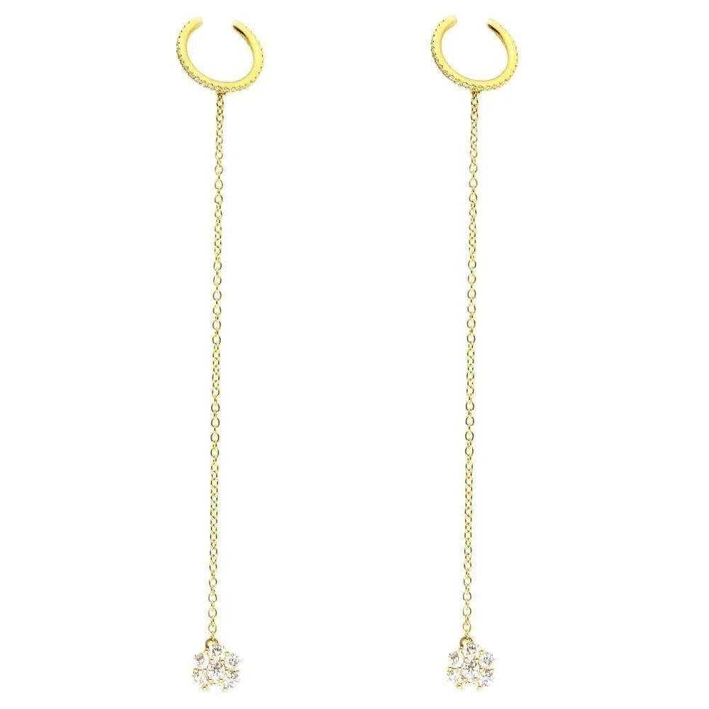 Diamond Earrings E40818 - Cometai