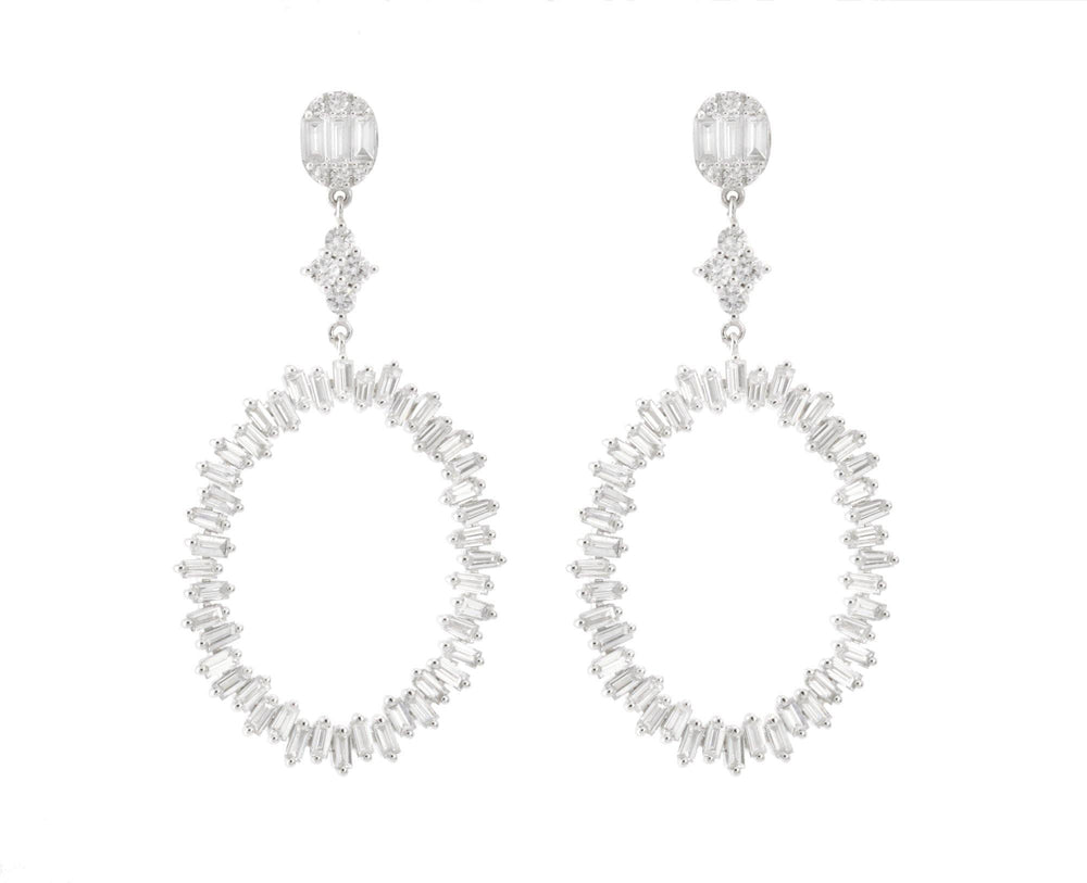 Diamond Earrings E40895