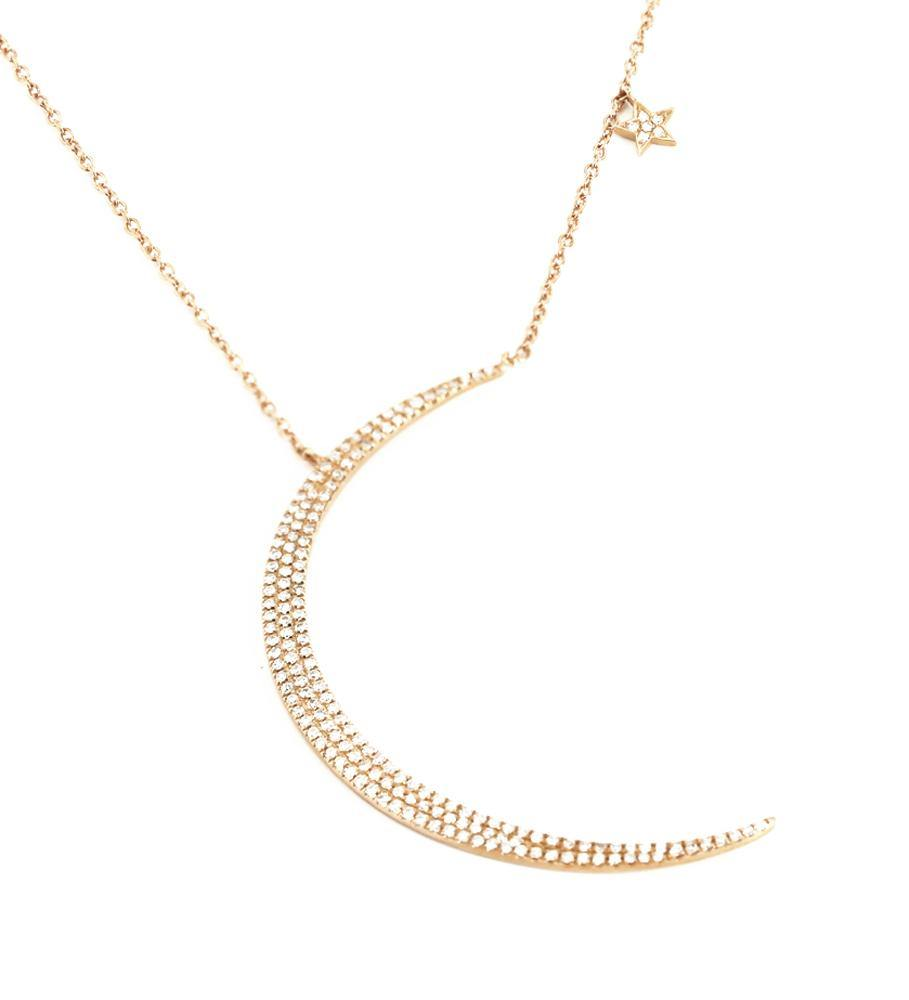 Diamond Necklace NL39546R4SD