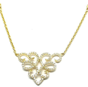 Diamond Necklace NL32823 - Cometai