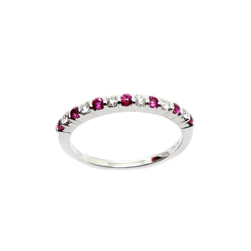 Load image into Gallery viewer, Ruby & Diamond Ring R22257