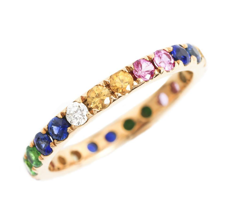 Color Gemstone Ring R39082