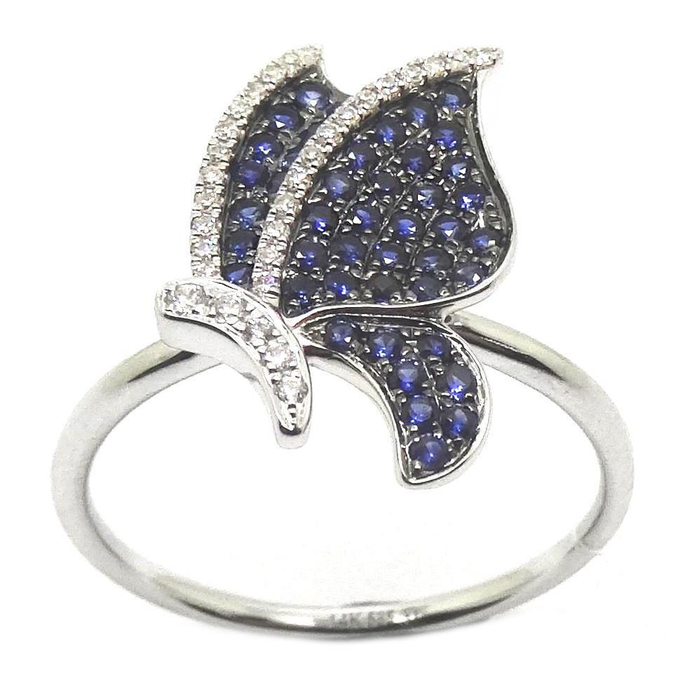 Sapphires & Diamonds Ring R41001